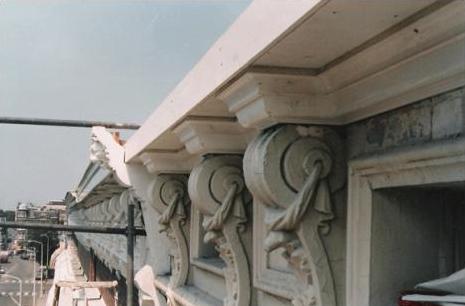 Restauratie ornamenten